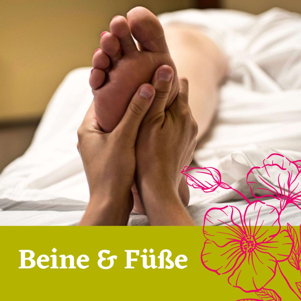 Beine und Füße Aromaöl-Massage. 30 min für 39 Euro