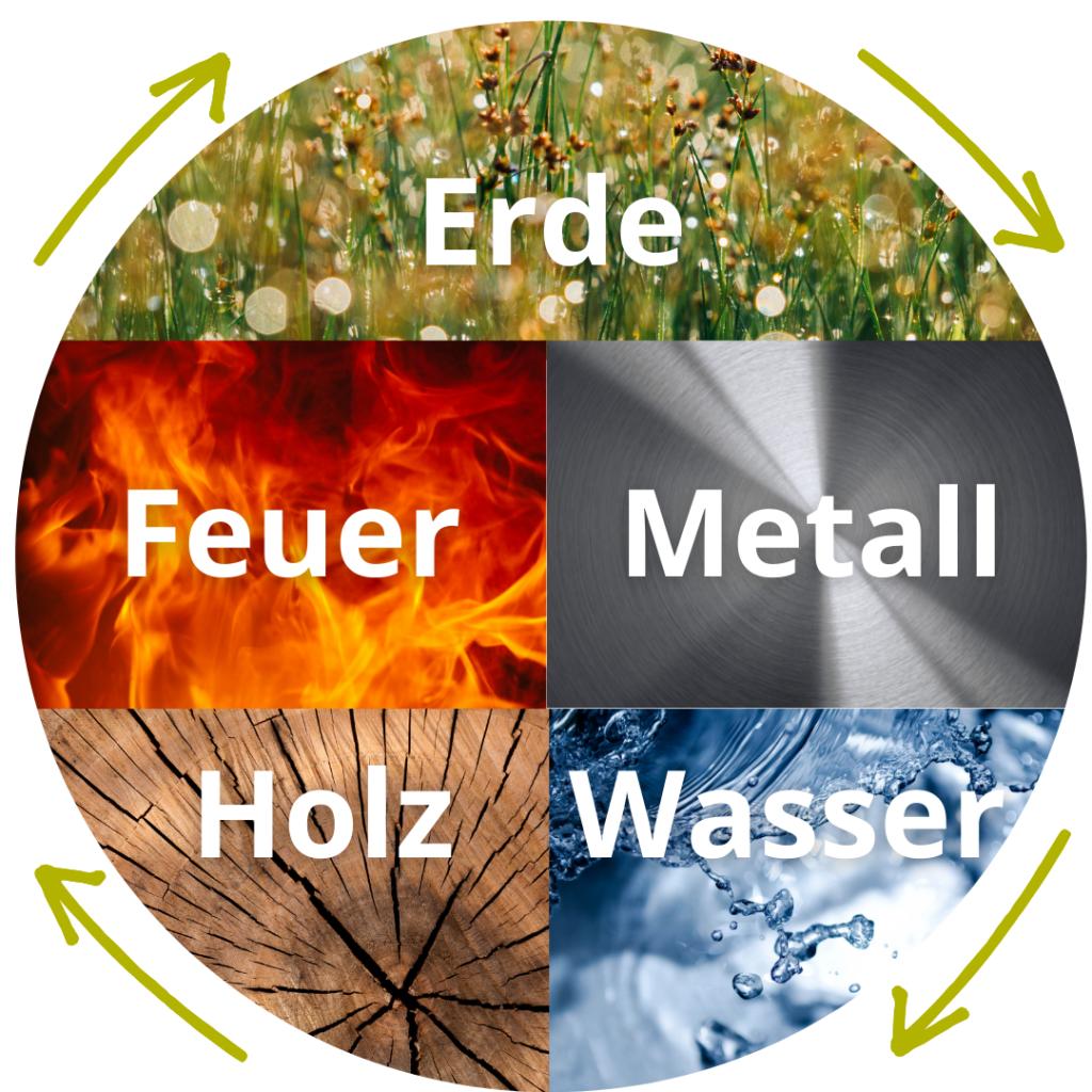 Die fünf Elemente der TCM
