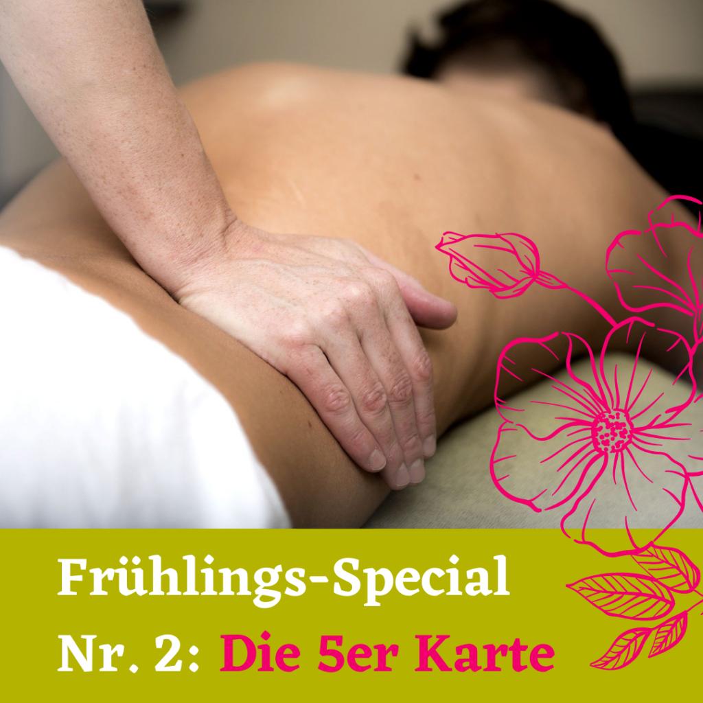 Fünf Massagen kaufen und sparen wilderthymian Aromaölmassagen Berlin
