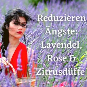 Reduzieren Ängste: Lavendel, Rose & Zitrusdüfte