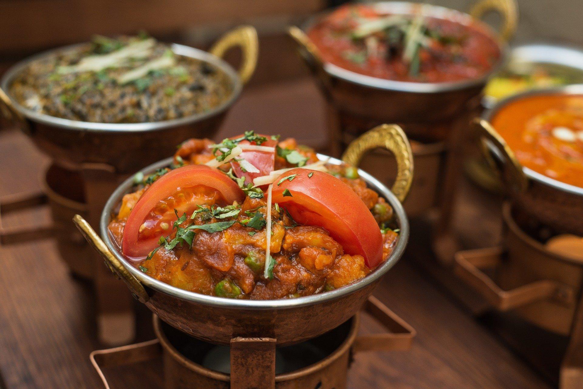 veganes indisches Gemüsecurry